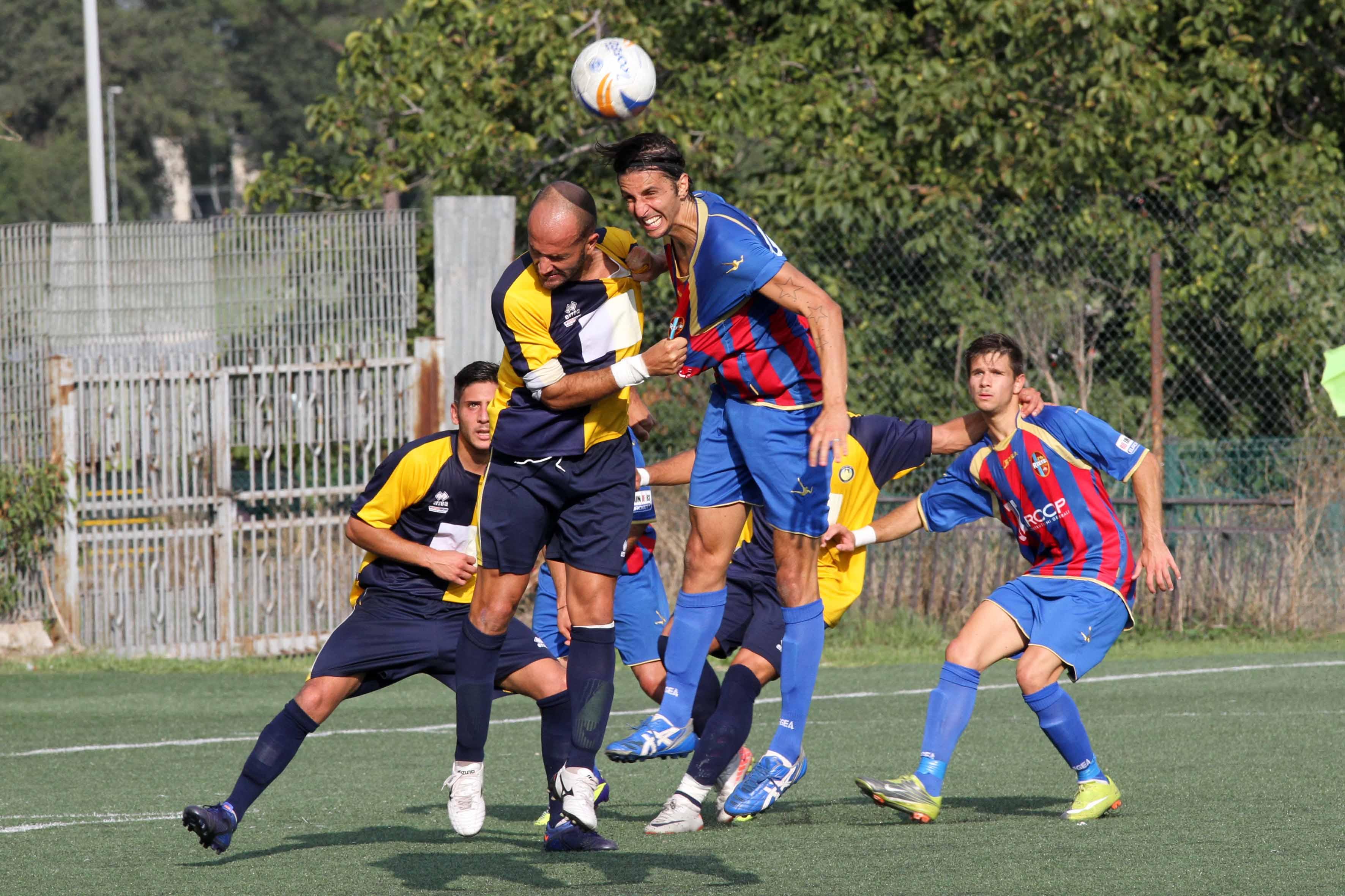MONTEROTONDO LUPA - RIETI  CALCIO COPPA ITALIA  2012/2013
