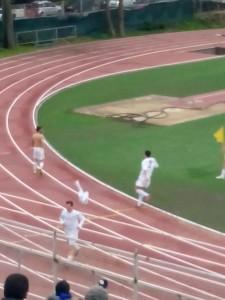 Il gol dell'Empolitana Giovenzano