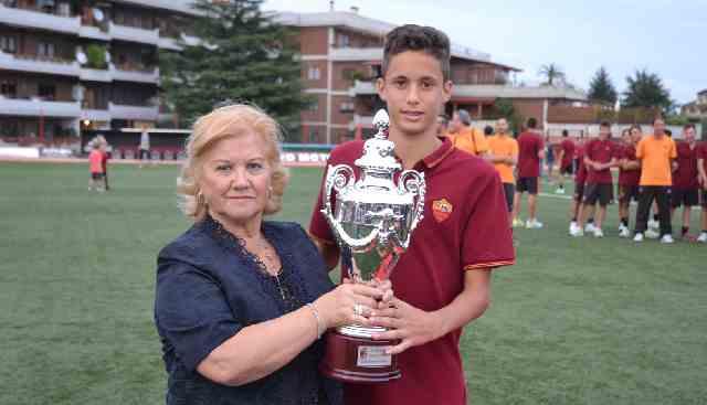 memorial premiazione trofeo fabrizi signora irma con cap roma