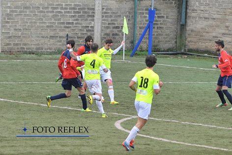 COLLEFERRO IL GOL DEL 2-1