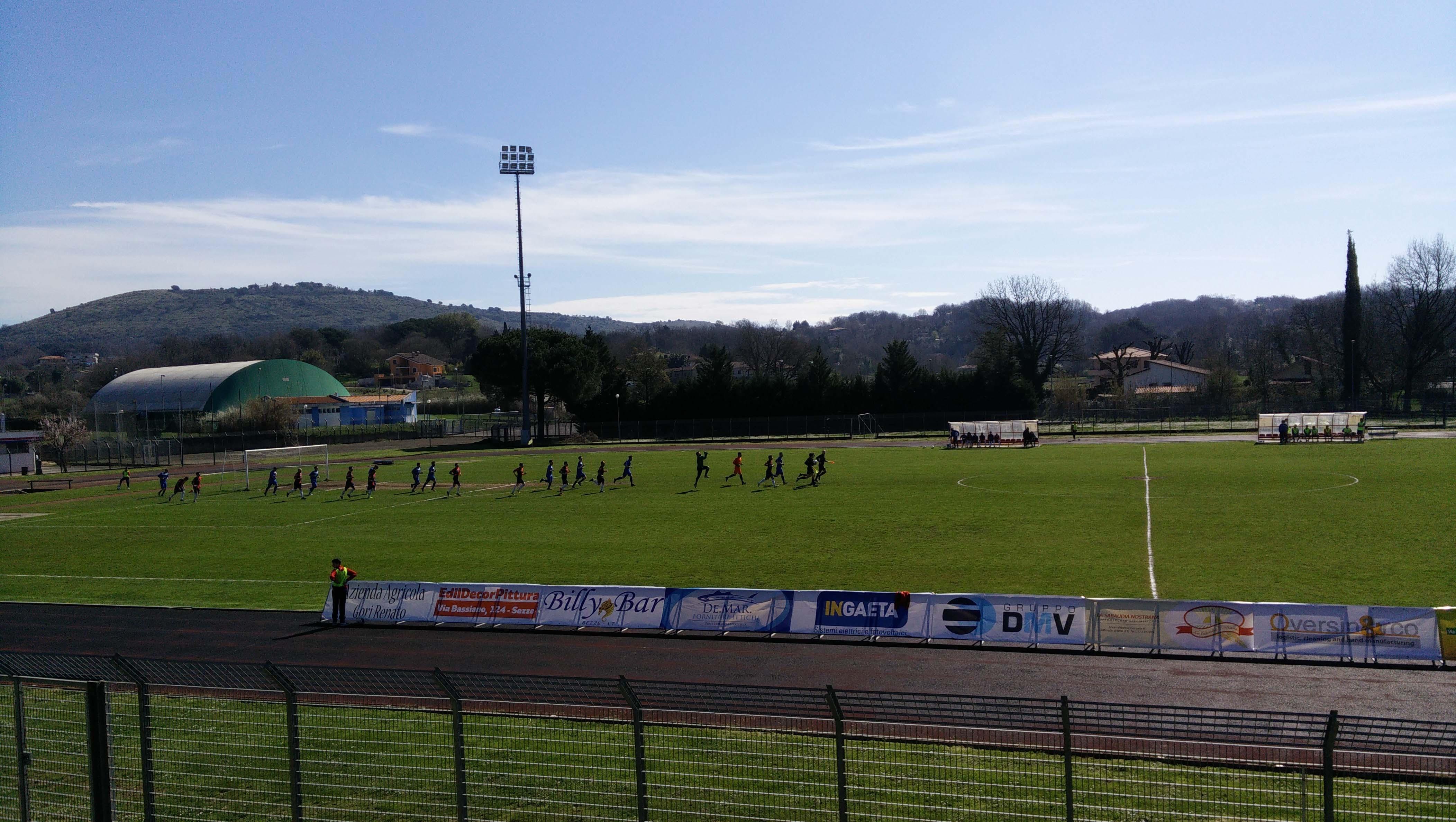 Calcio Sezze - Tecchiena Techna