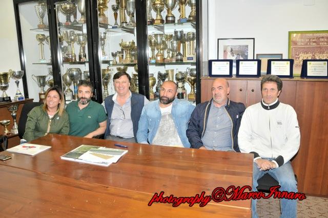 foto conferenza stampa Real Tor Sapienza