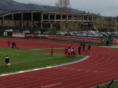 Cassino - Vastogirardi. La rete del 3-0 di Masciantonio