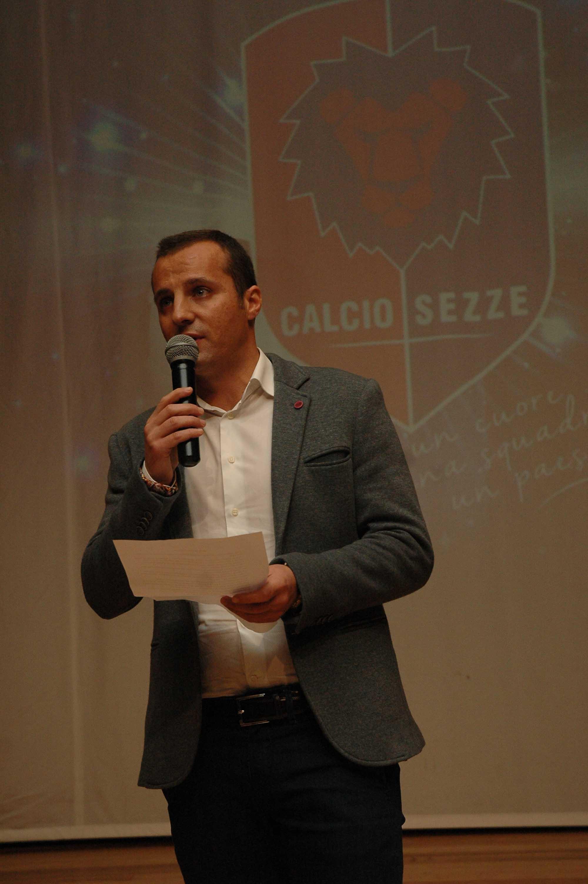 Il presidente del Calcio Sezze Marco Gaeta (1)
