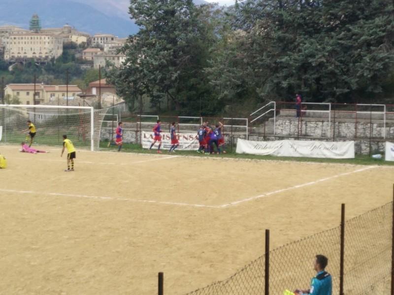 6-Esultanza Calcio Sezze