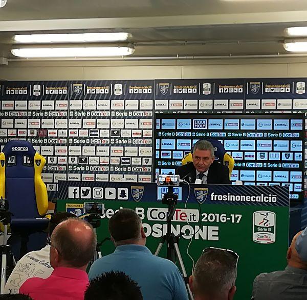 Il presidente giallazzurro Maurizio Stirpe: